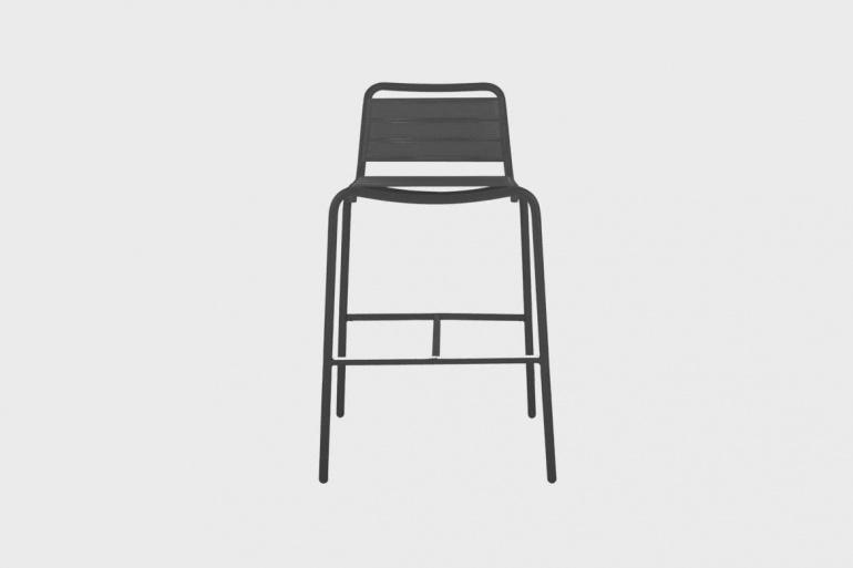 Vega Padded Bar Chair