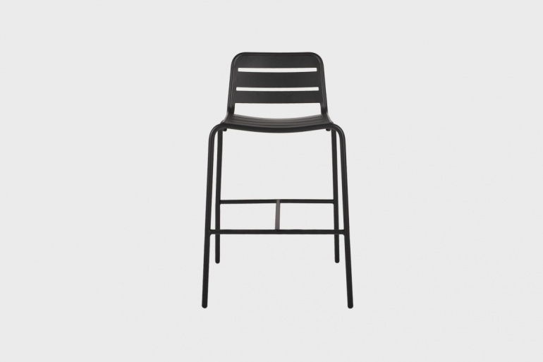 Vega Aluminium Bar Chair