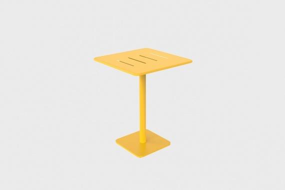 Table Haute Carre Vega 80x80