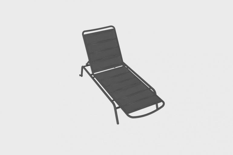 Chaise Longue Rembourré Vega