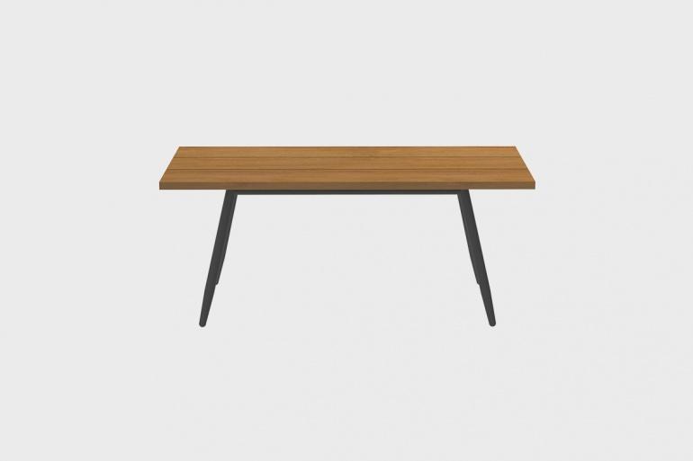 Table Teck Stipa 92x180