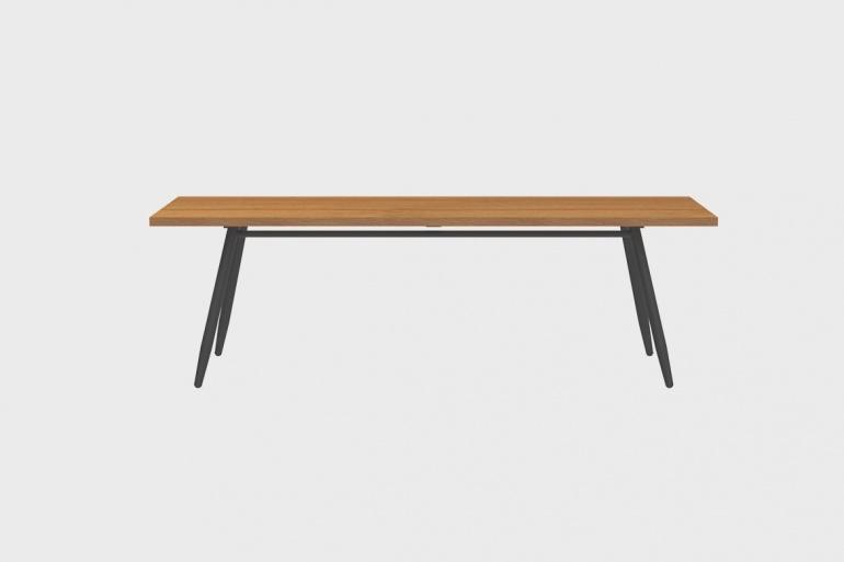 Table Teck Stipa 92x240