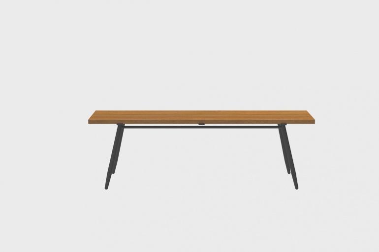Stipa Teak Bar Table 61x210