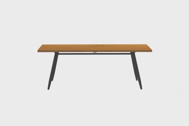 Table Teck Stipa 81x210