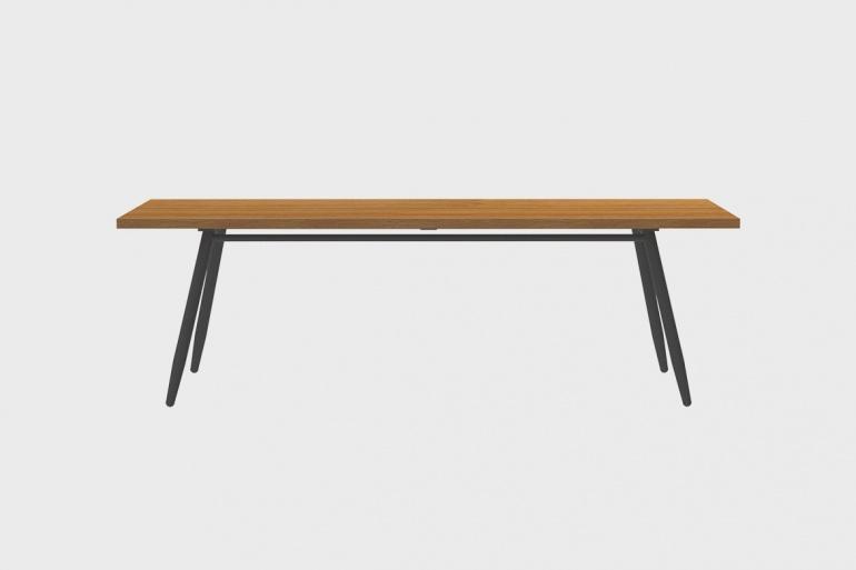Table Teck Stipa 91x240