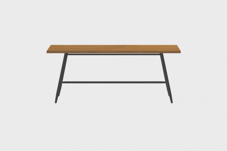 Table Teck Stipa 60x240