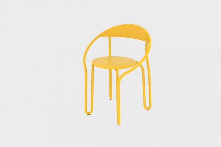 Huggy Bistro Chair
