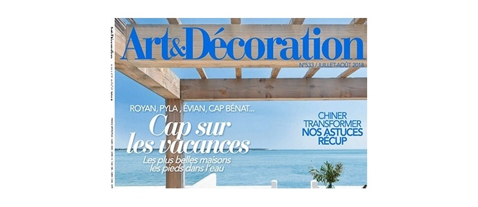 Art & Décoration July-August 2018