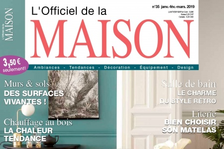 L'officiel de la Maison – january 2019
