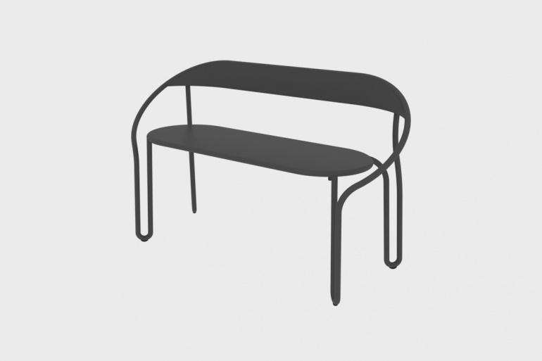 Super Huggy Bistro Bench Set Of 4 Dailytribune Chair Design For Home Dailytribuneorg